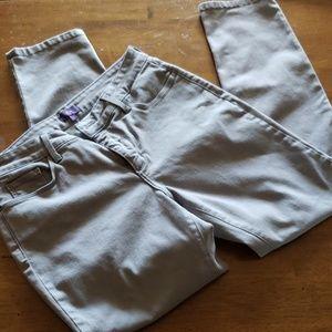 NYDJ  skinny gray Jean's size 12